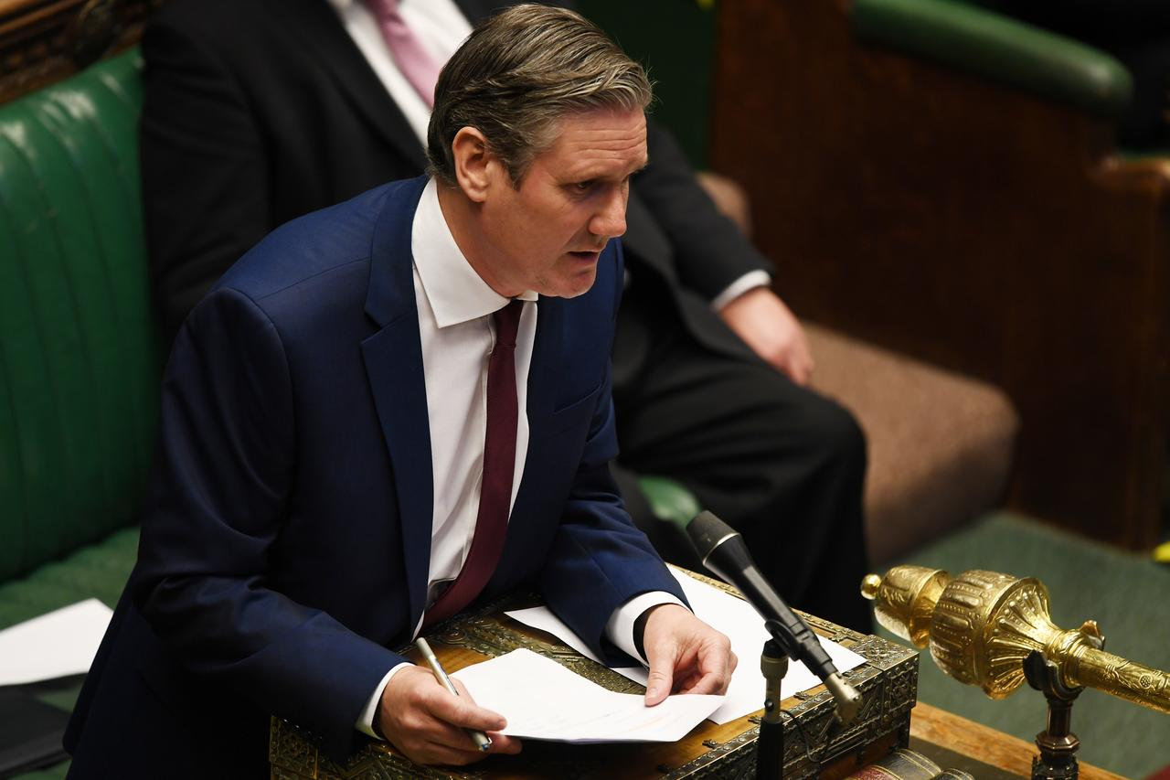 Labour leader Starmer says PM's statement raises questions - Reuters