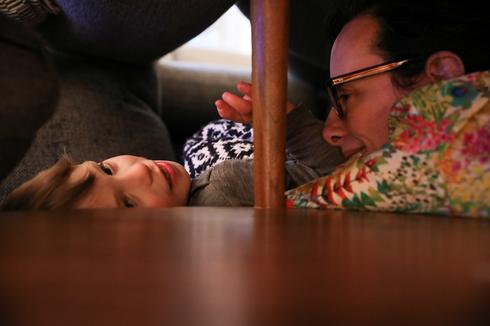 At home with New York City family amid coronavirus