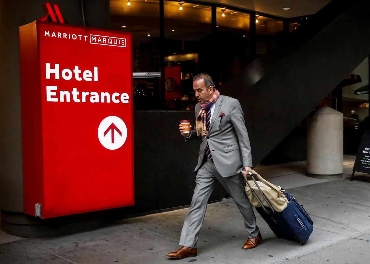 Marriott quarterly profit misses lowered estimates as bookings plunge
