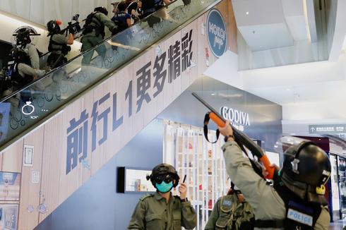 Hundreds arrested as Hong Kong  pro-democracy protests return
