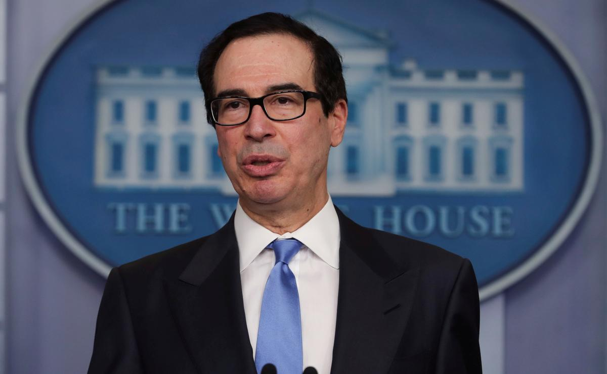California should do whatever's needed to help Tesla reopen car factory: Mnuchin