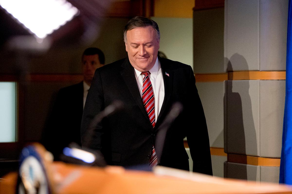 Pompeo to Israel: Be circumspect on West Bank annexation