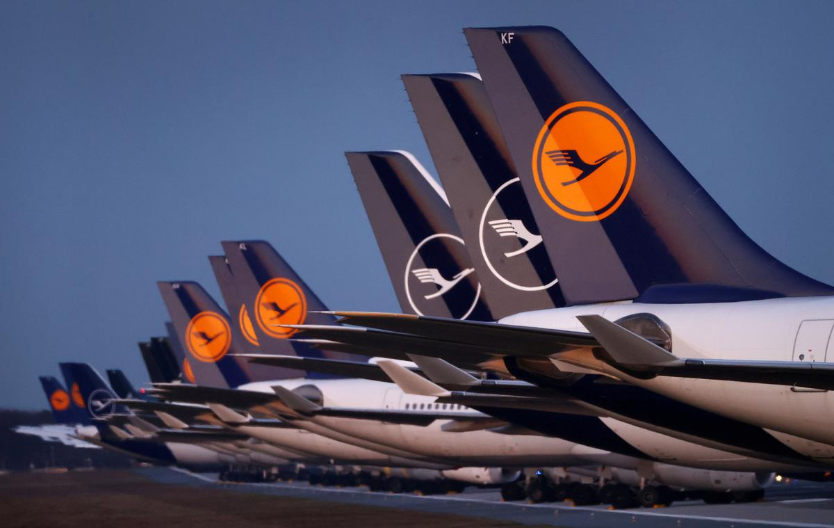Lufthansa plans 1,800 round trips a week by the end of June