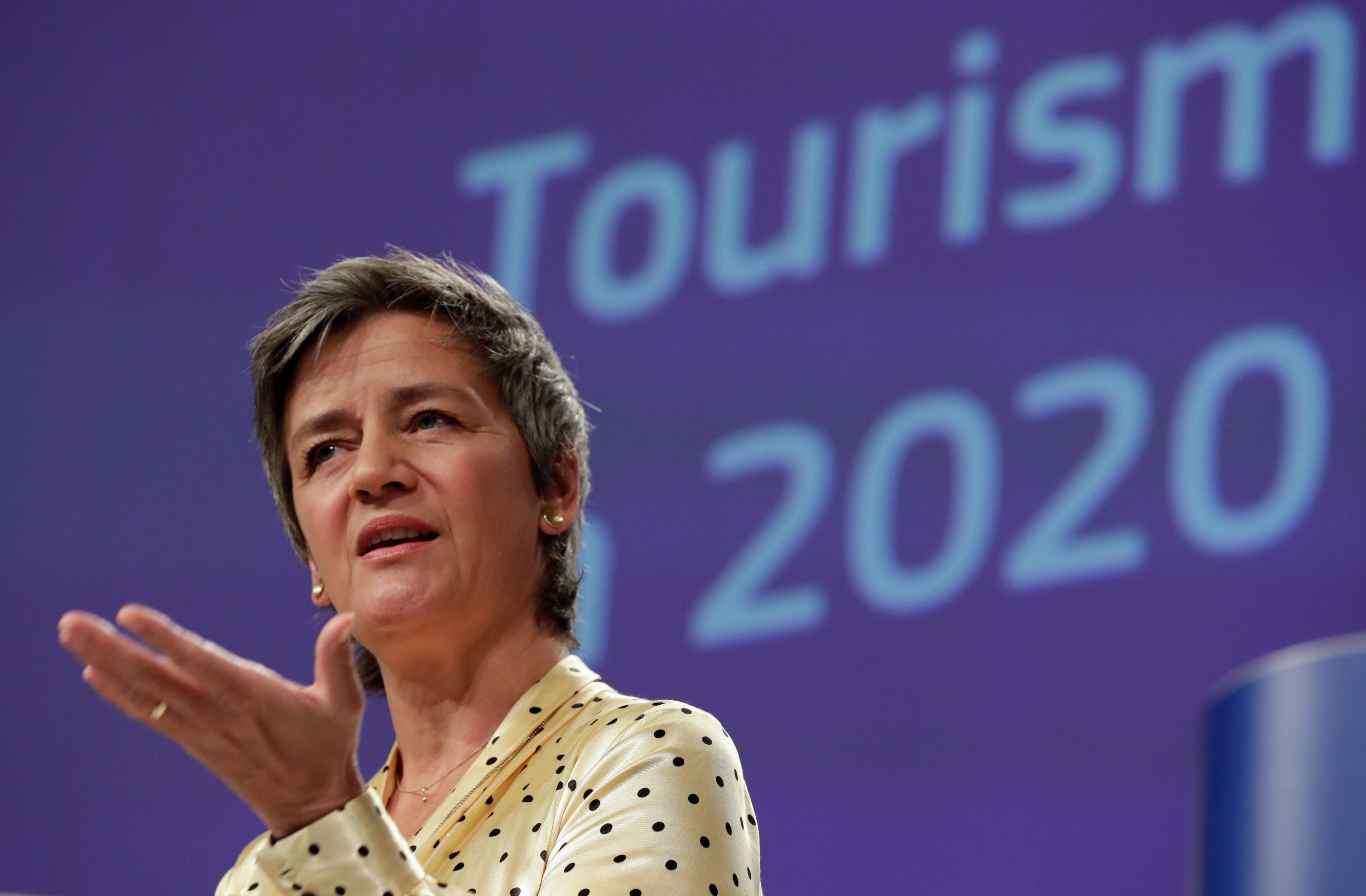 EU's Vestager: Discrepancy in state aid distorts single market, hampers recovery