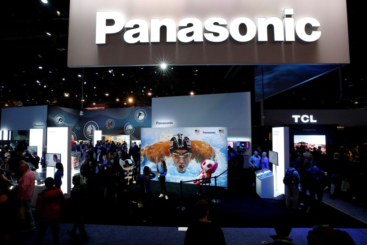 Panasonic annual profit slides, but Tesla battery venture logs second quarterly gain