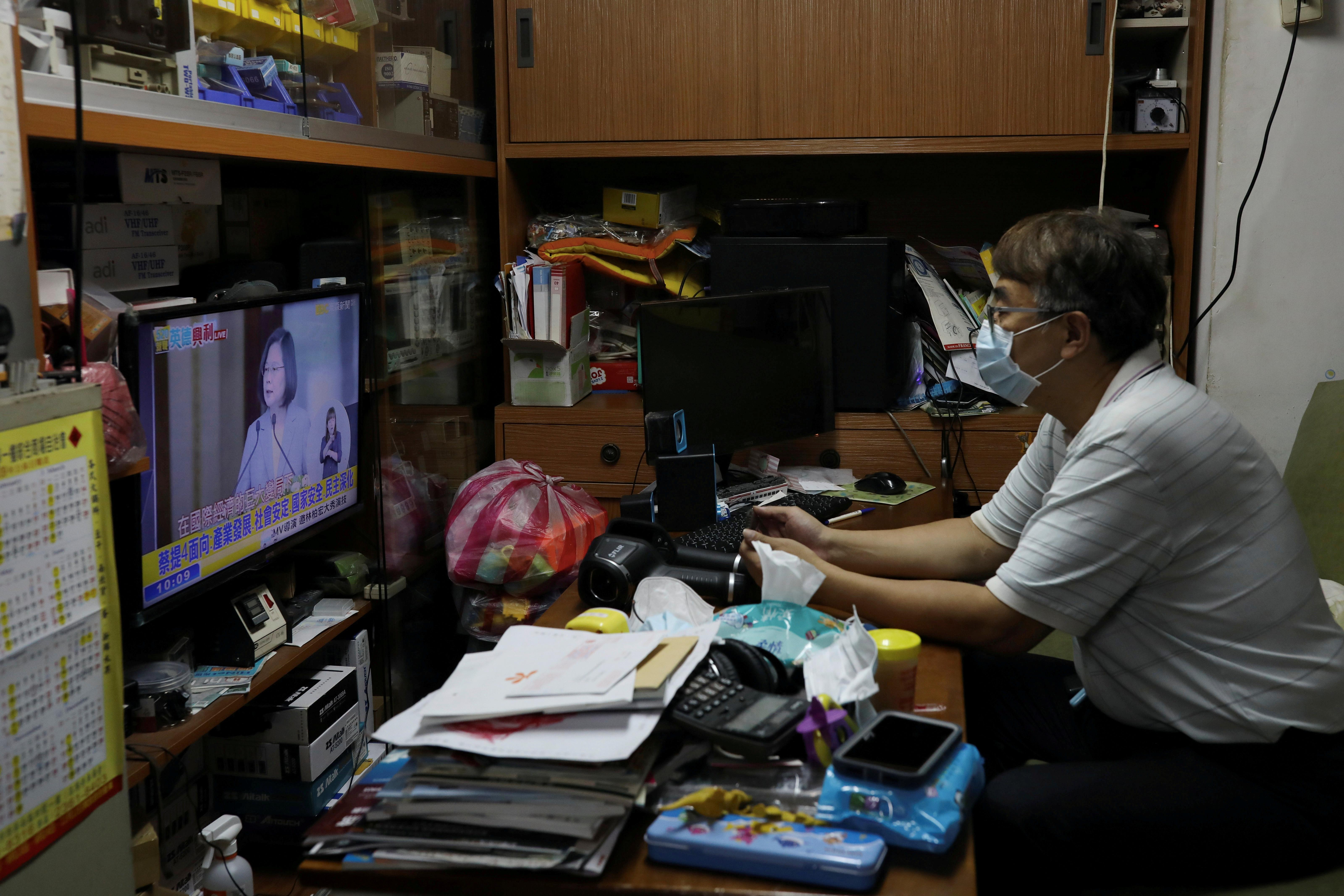 Le président de Taiwan rejette le régime chinois et appelle à des pourparlers pour coexister