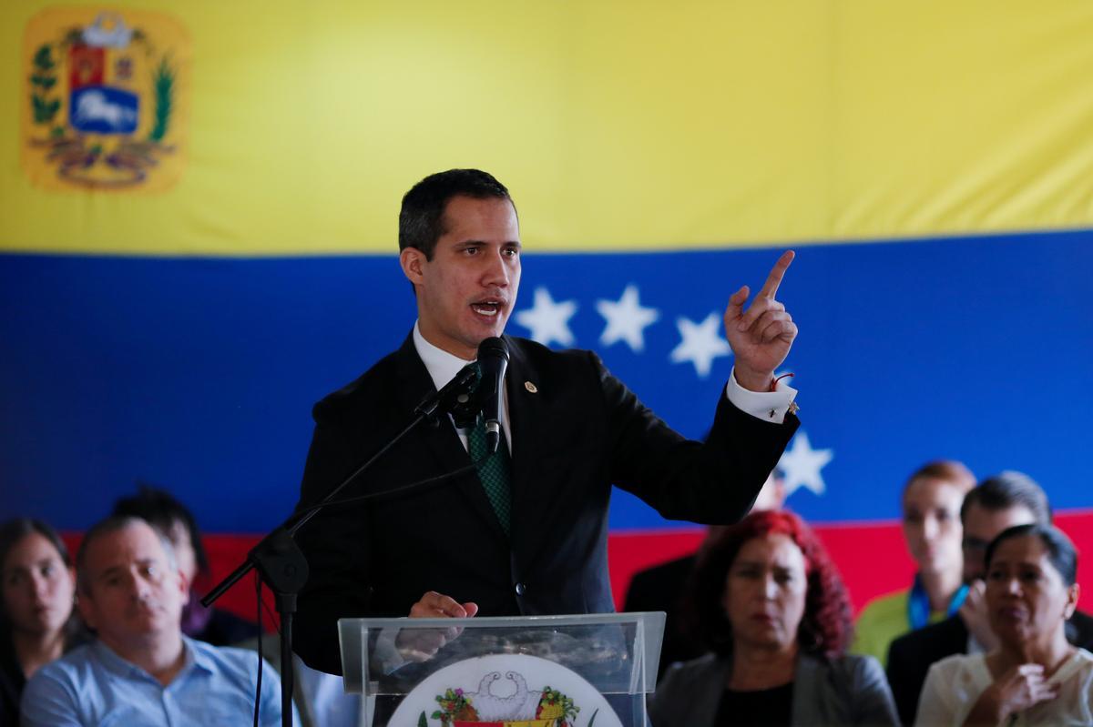 Venezuela's Guaido says Iran fuel shipment ought to alarm Latin America