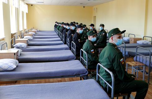 Coronavirus cases climb in Russia