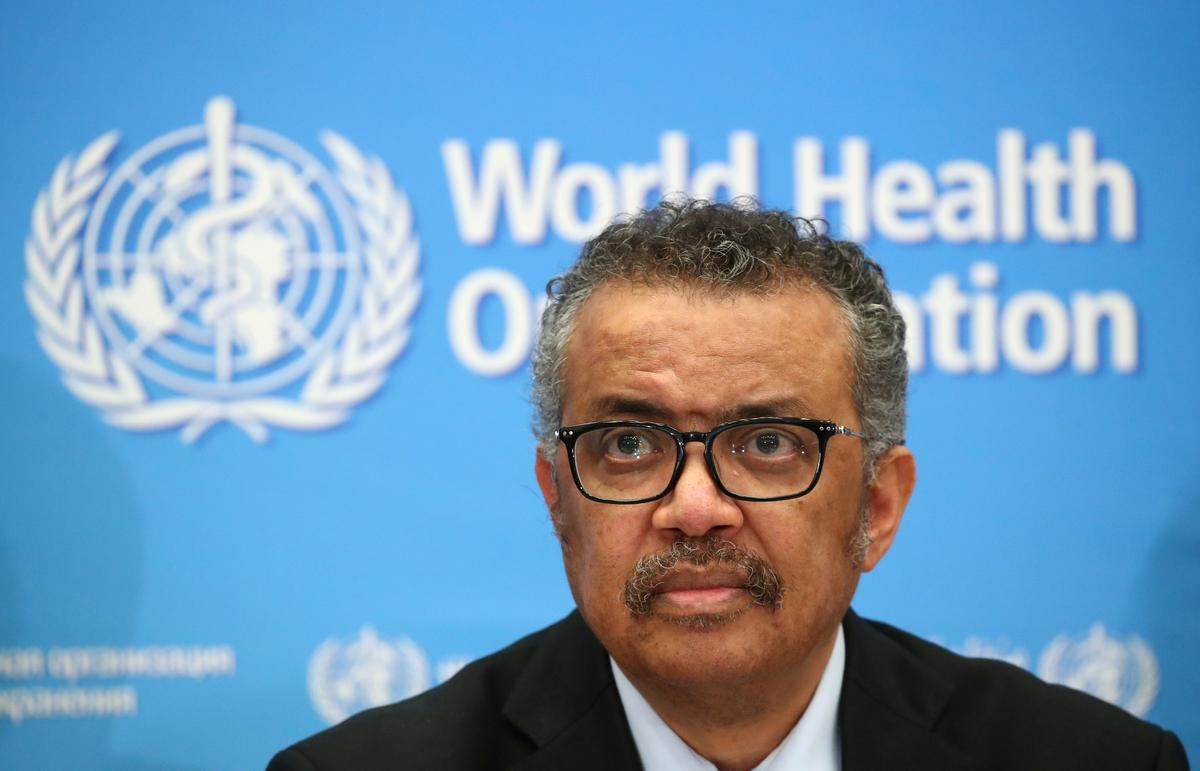 WHO has worked 'day and night' on pandemic, funding lags: Tedros tells board