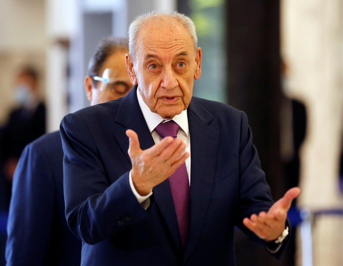 Lebanon's Berri tells government time for action not words