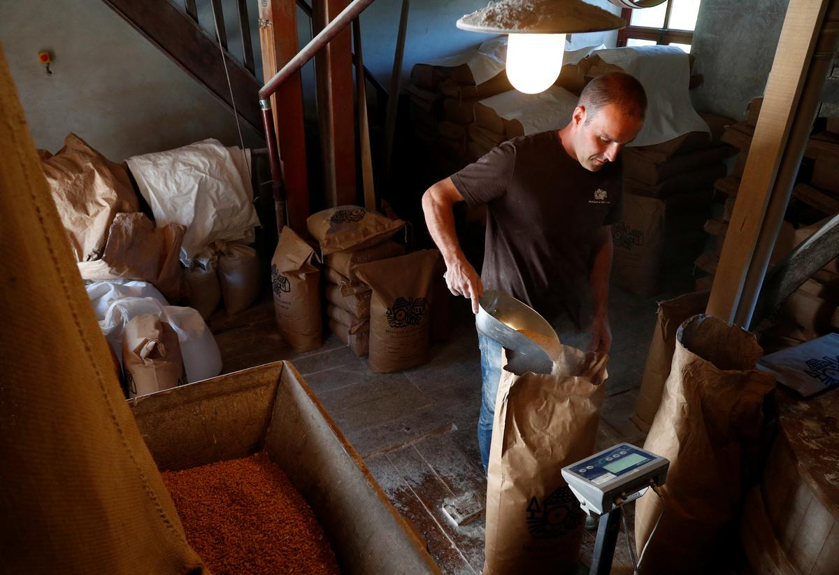 Ancient Belgian watermill sees flour demand spike during lockdown