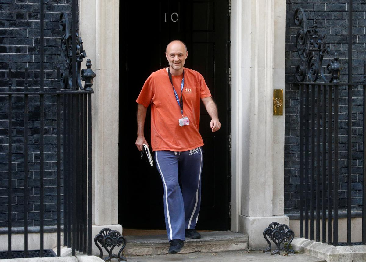UK opposition leader calls for inquiry into PM's adviser over lockdown drive
