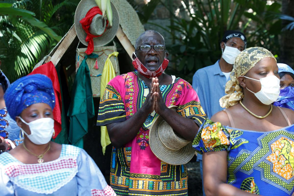 Haiti voodoo leaders prepare temples for coronavirus sufferers