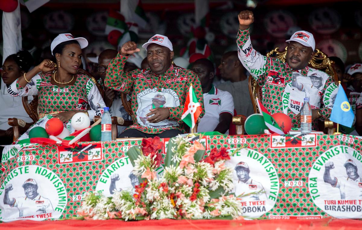 Burundi's ruling party candidate wins presidential election 4