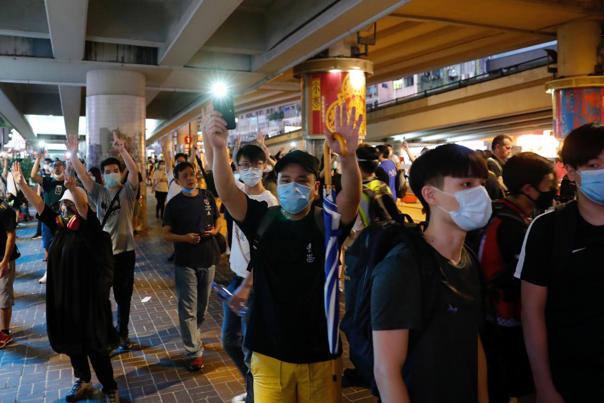 Security tight as Hong Kong set to debate China national anthem bill