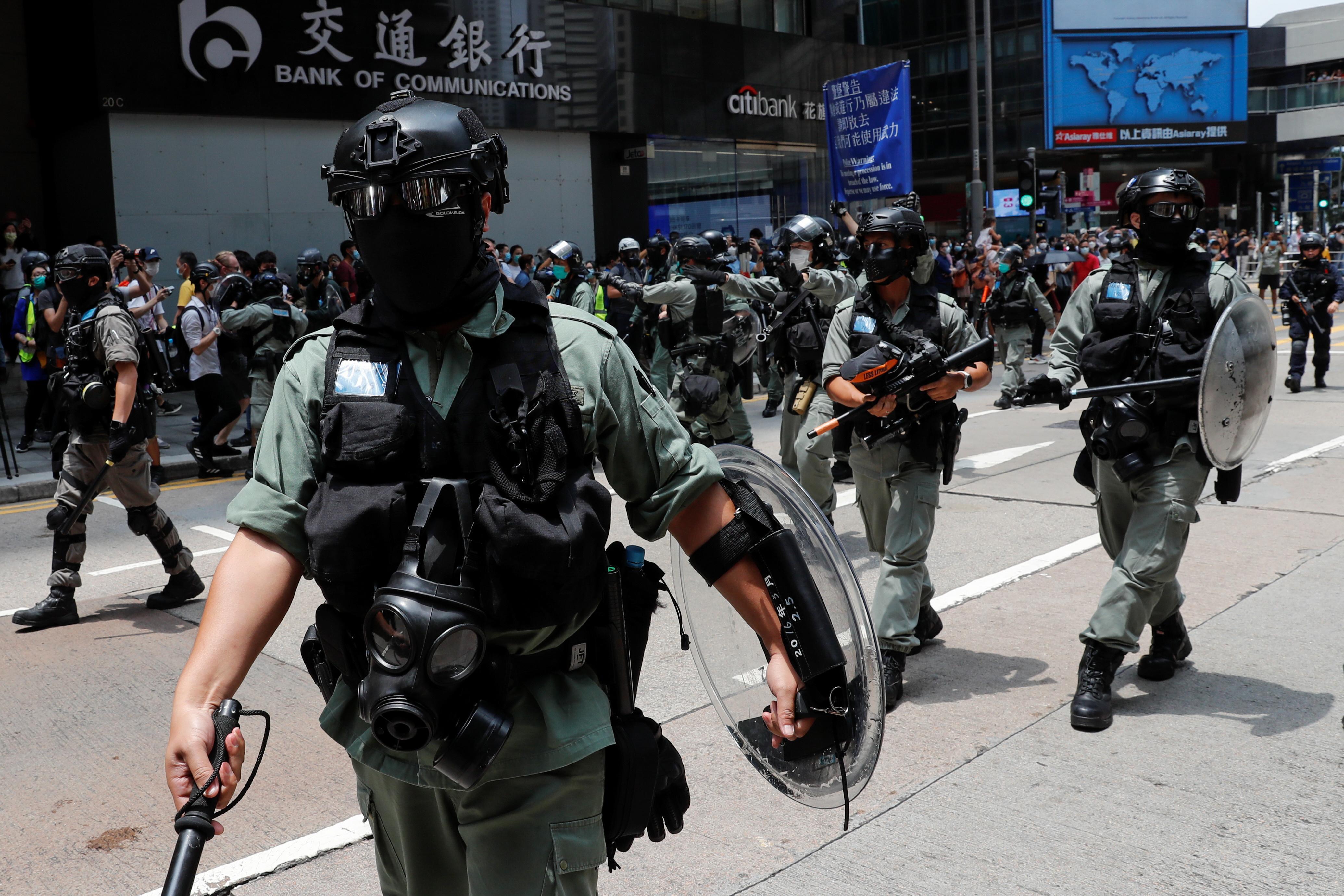 Hong Kong no longer deserves special U.S. status, Pompeo says