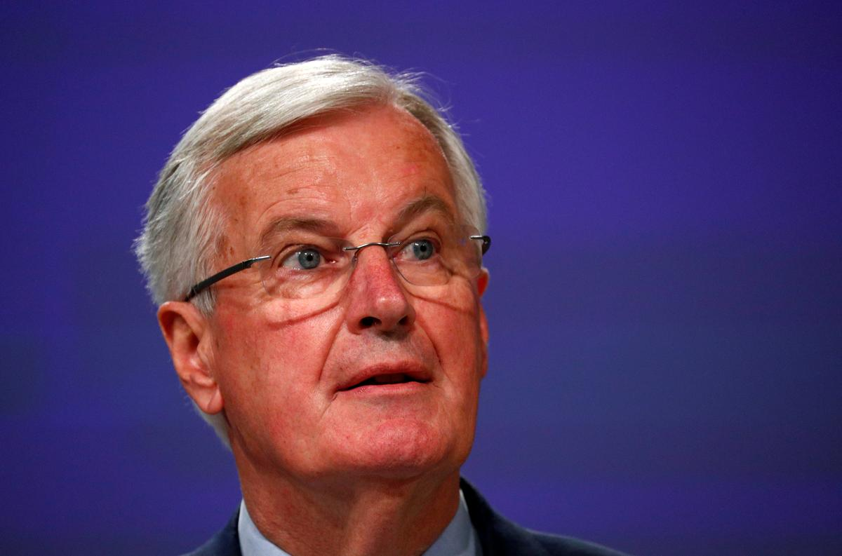 EU's Barnier tells Britain not to cherry pick in talks