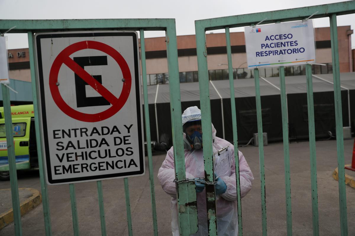 Doctors in Chile face tough decisions as coronavirus cases spike