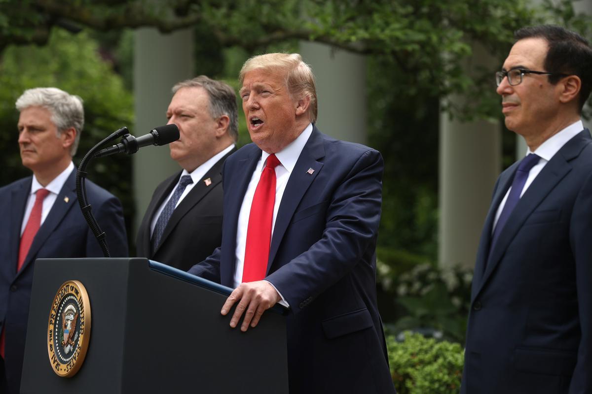 Hong Kong leaders say Trump 'completely wrong' for curbing ties
