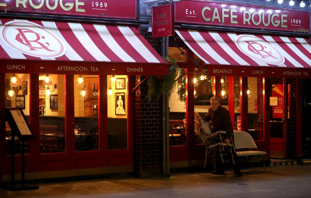 Cafe Rouge, Bella Italia could see nearly a third of outlets closed: sources