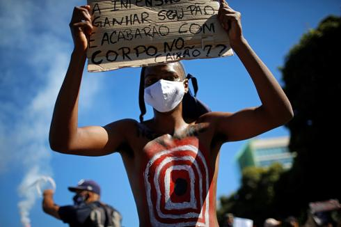 U.S. protests stoke backlash against deadly cops in Brazil