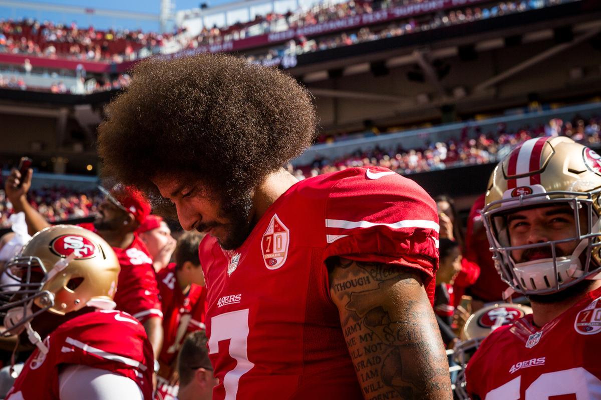 U.S. Army veteran stunned by negative reaction to Kaepernick kneeling