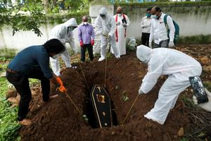 Burying the victims of coronavirus
