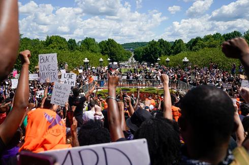 Protests against racial inequality sweep across America