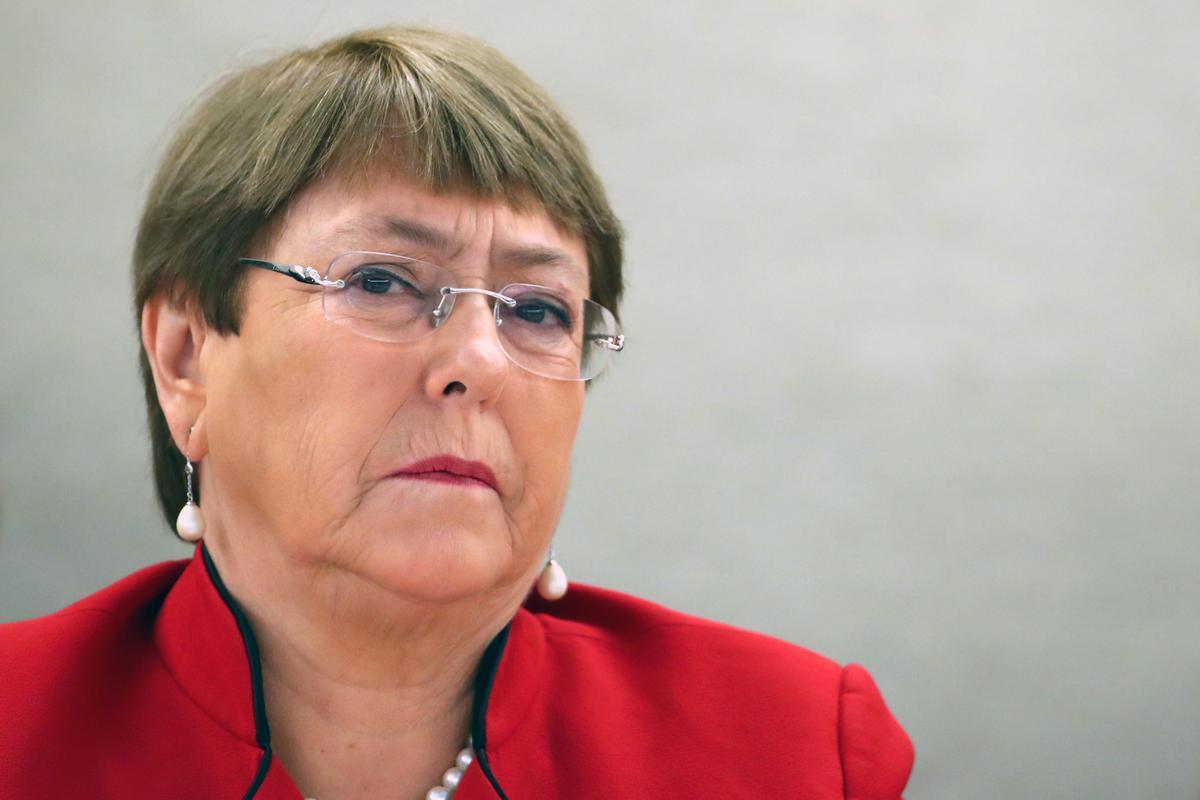 """U.N. rights chief urges Israel to halt """"illegal"""" annexation plan"""