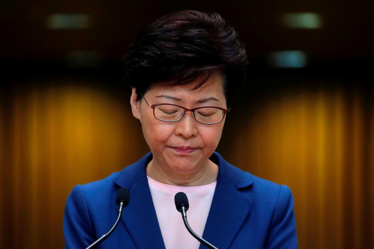 Hong Kong's Carrie Lam to address top U.N. rights forum on Tuesday