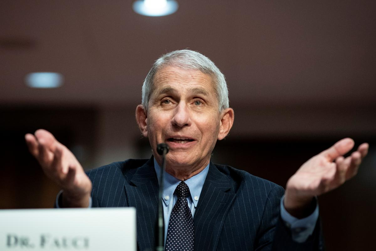 COVID-19 vaccines to enter late-stage trial by end of July, Fauci says
