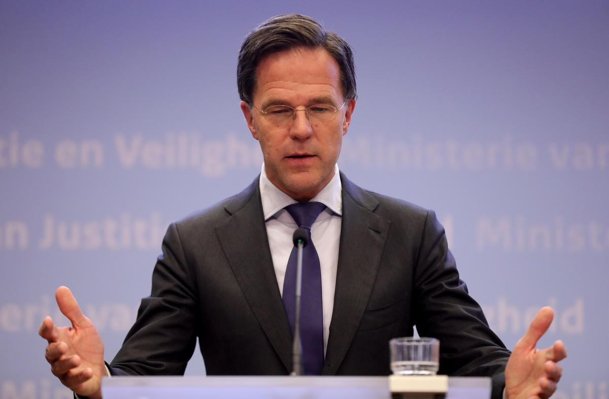 Dutch PM Rutte: no necessity to reach European recovery fund deal at July meeting