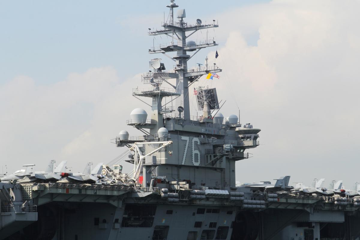 U.S. sends carriers to South China Sea during Chinese drills