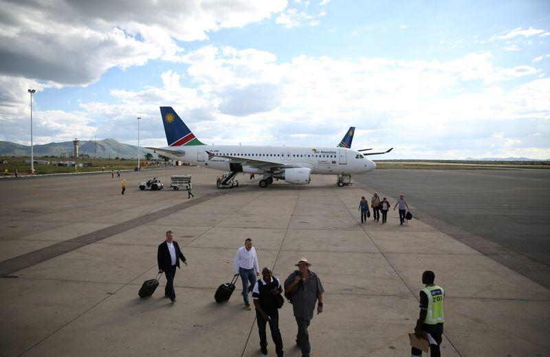Namibia to ground national carrier's license over cash hole - Reuters