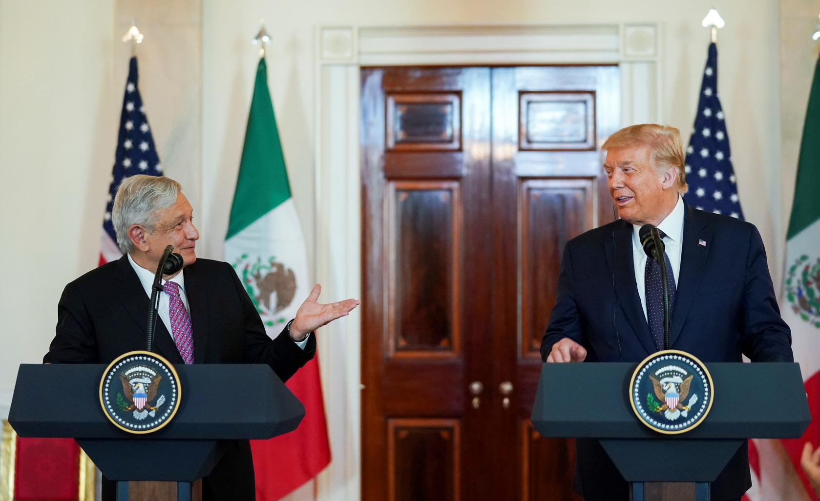 Attitudes of Mexicans in Mexico toward the 2020 U.S. Presidential Election