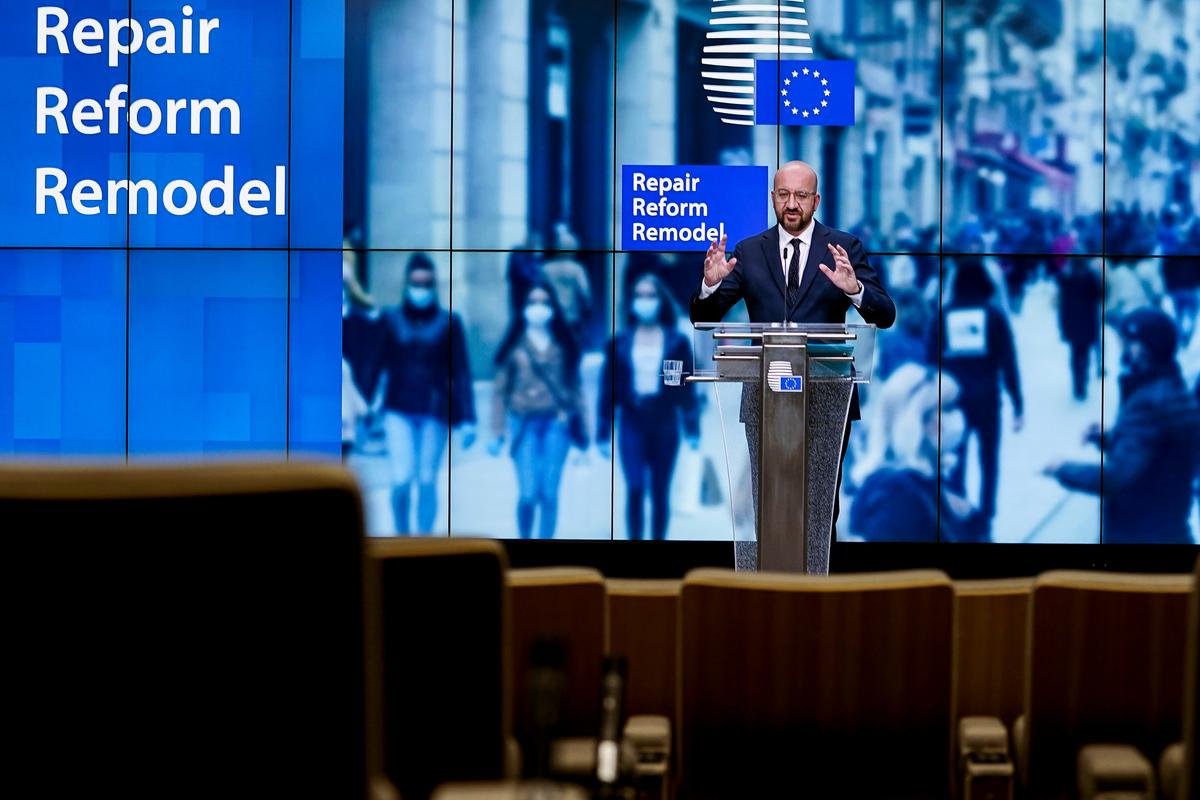 EU's Michel floats please-all recovery plan ahead of tough budget summit