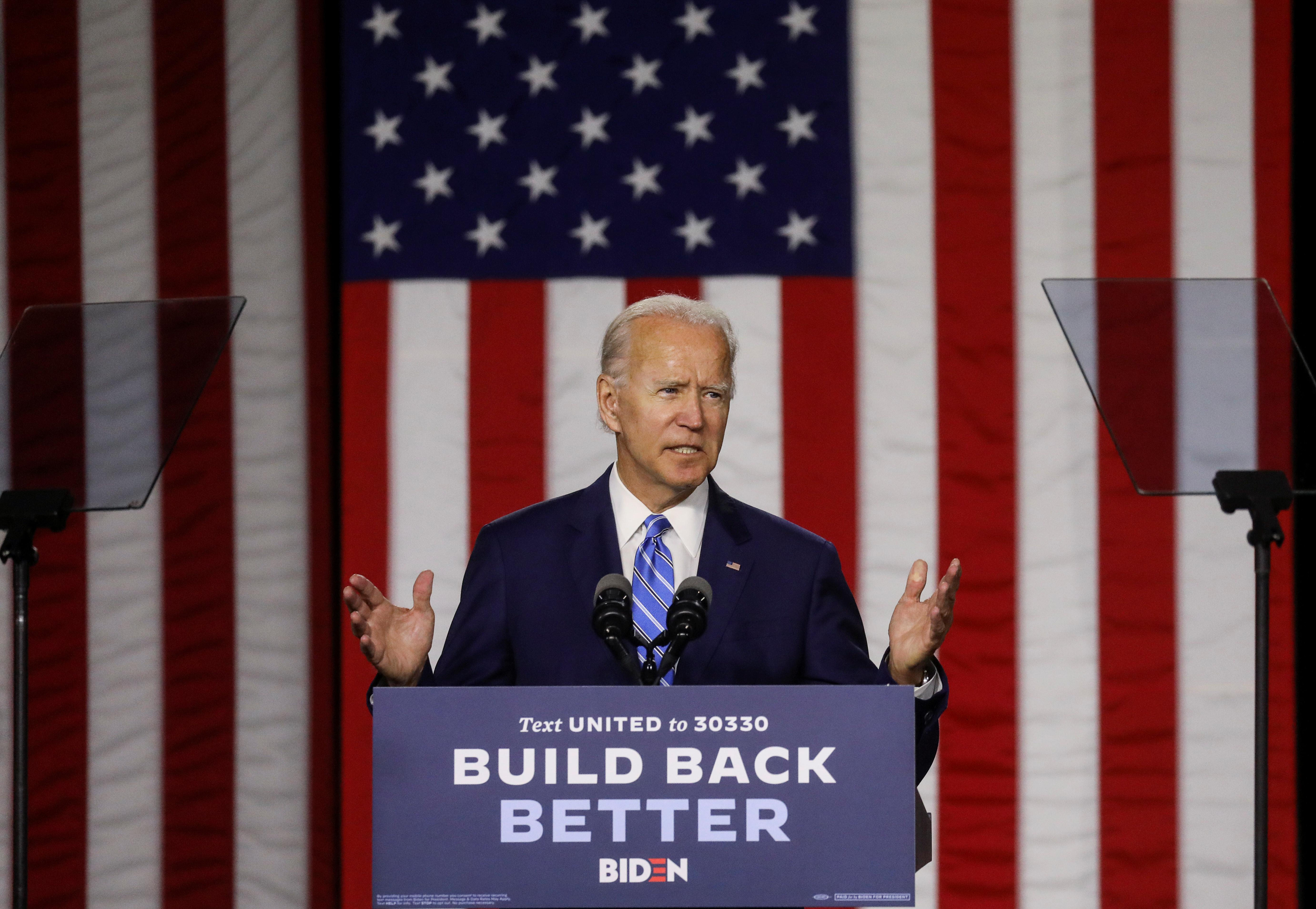 Biden clean-energy plan would spend $2 trillion to boost U.S. economy