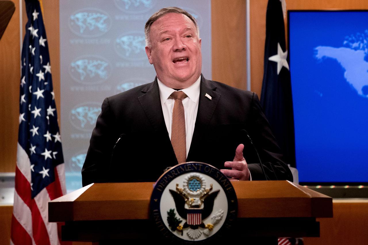 焦点:美国务卿蓬佩奥称因人权原因将对华为等中国公司实施签证限制 ...