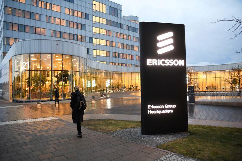 Rise in 5G sales buoys Ericsson's quarterly profit