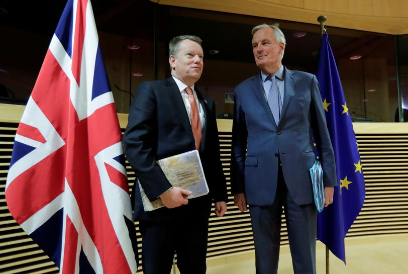 Uk Trade Deal Unlikely For Now Britain Eu Clash Over Post Brexit Ties Reuters