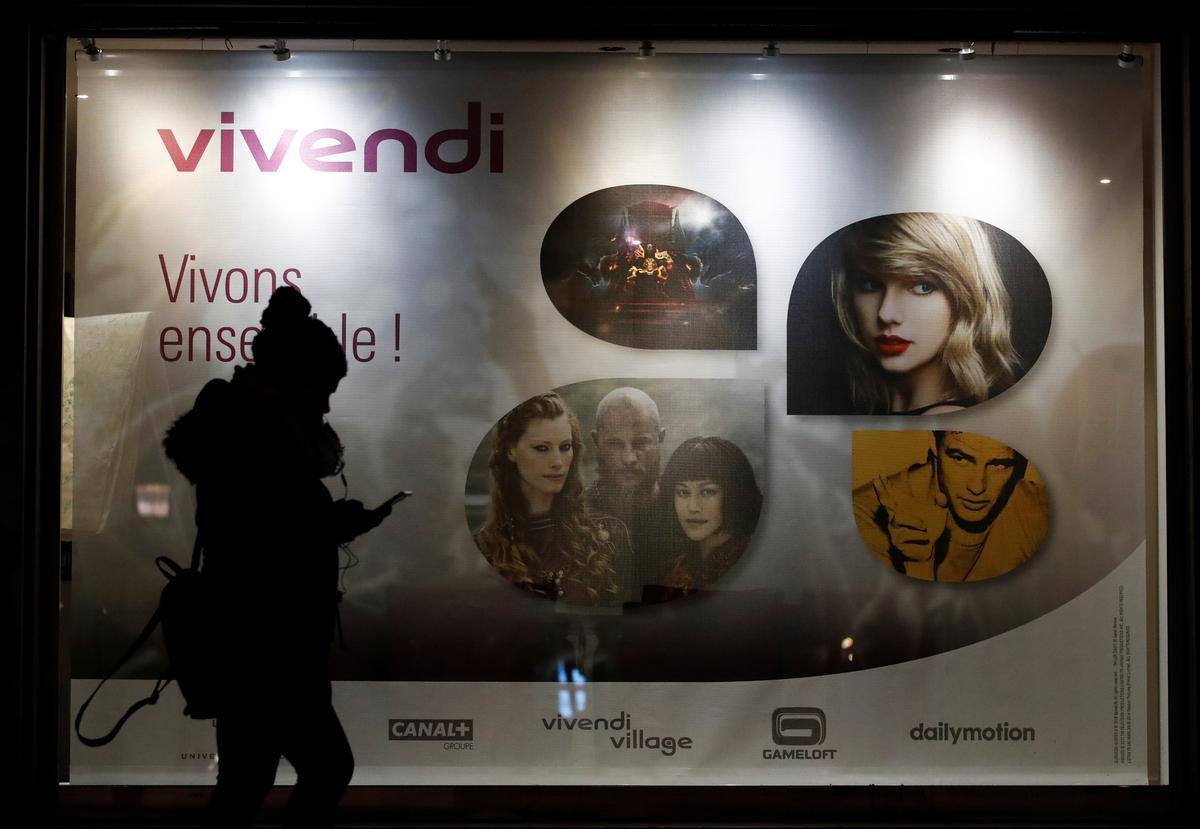 Vivendi's first-half core profits fall 3.8% as advertising revenues hit
