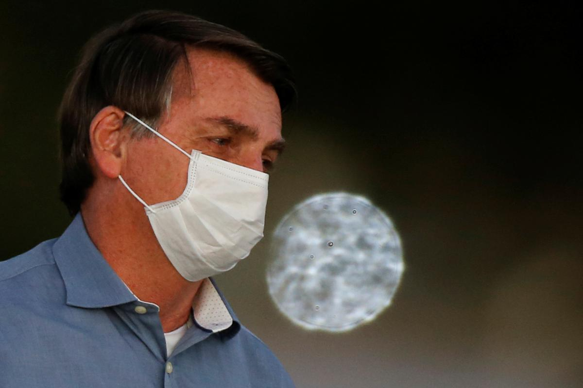 Brazil's Bolsonaro vows more travel despite 'mold' in lungs