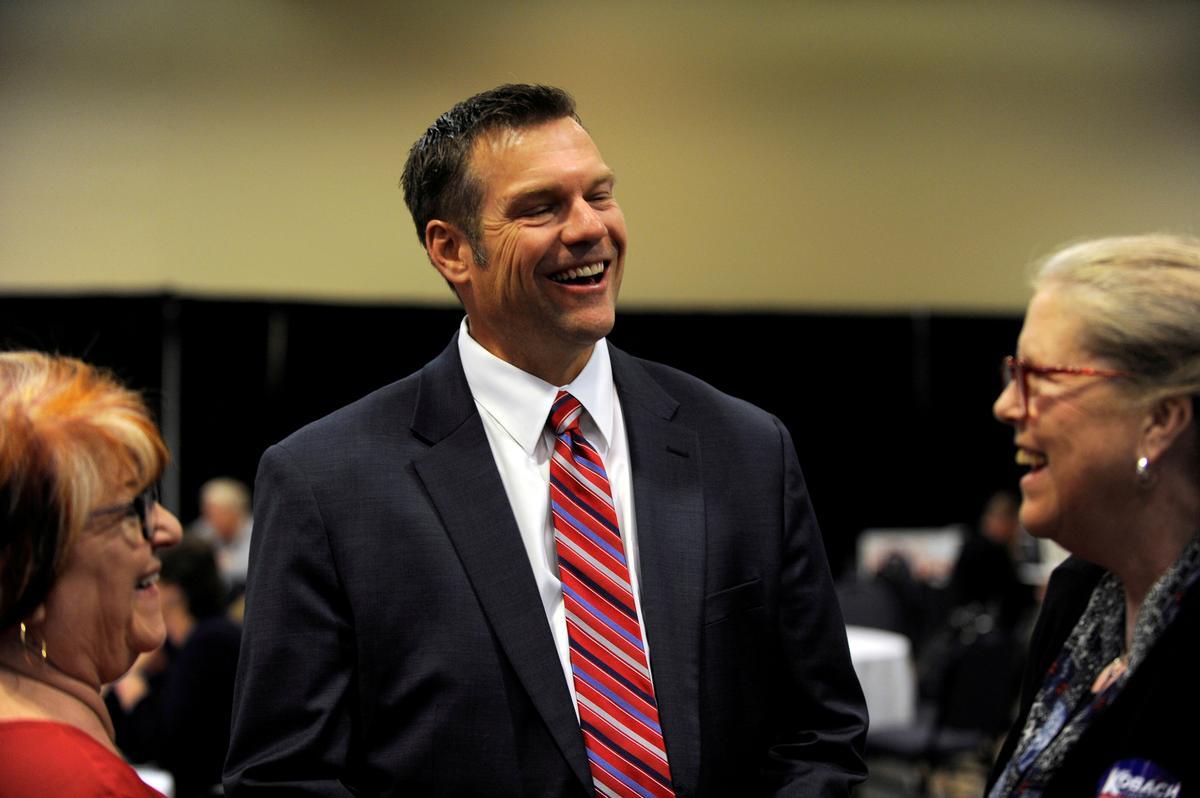 U.S. Rep. Marshall beats Kobach in Kansas Republican primary for Senate