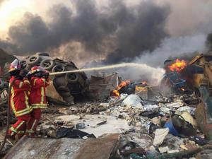 Massive blast in Beirut sends shockwaves across city