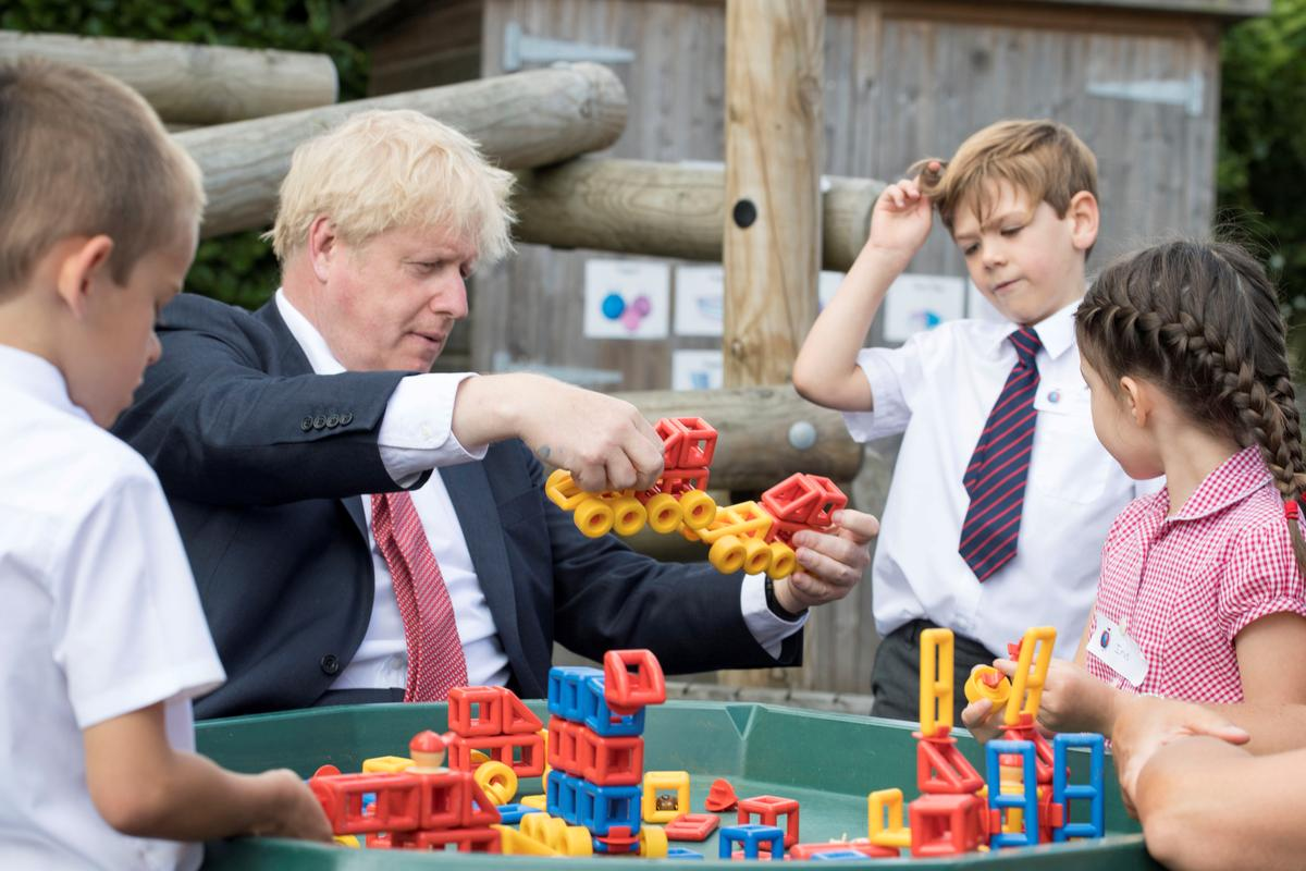 UK prime minister says schools must open in September