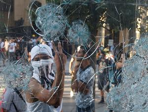 Lebanese protest government as anger over Beirut blast grows