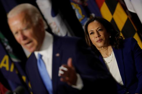 Biden and running mate Harris make first campaign appearance