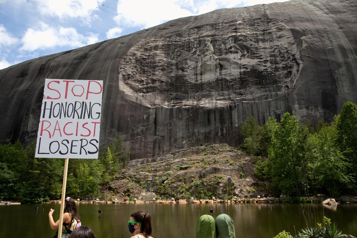 Georgia's Stone Mountain Park shuts down ahead of anticipated ...