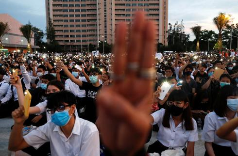 Student-led anti-government protests roil Thailand