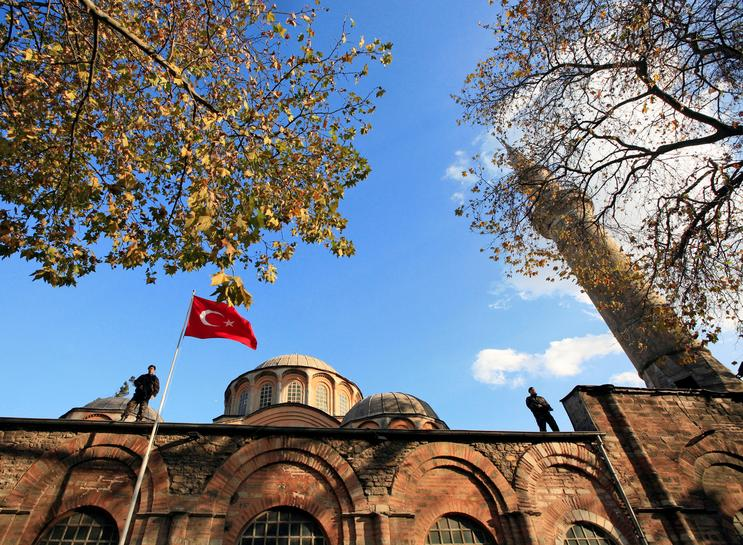 Turkey's President Erdogan Orders Historic Church of the Holy Saviour in Chora to be Turned Into a Mosque